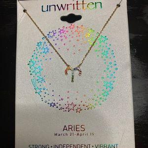 Unwritten Rainbow Aries Necklace